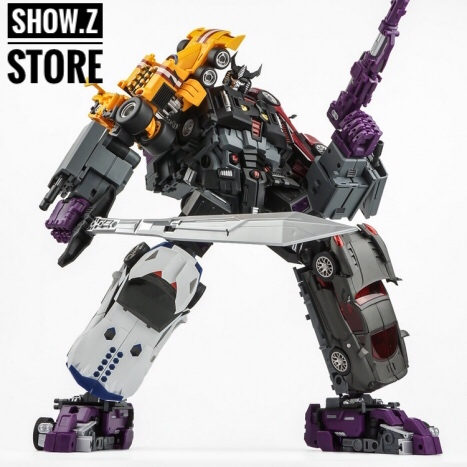 [Show.Z Store] TranFormmission TFM Havoc Set of 5 Disorder, Carnage, Powertrain, Over Turn, Revolt Transformation Action Figure viruses cell transformation and cancer 5