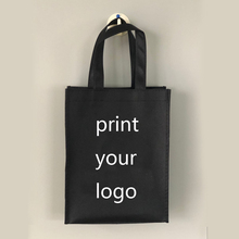 100pcs Custom Logo tote bags Shopping bags Shoes Clothes handbags