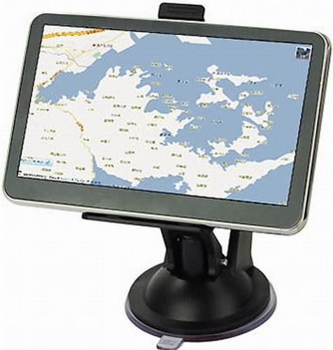 5 pulgadas de Navegación GPS Viento CE 6.0 Core GPS de Navegación con el Transmisor de FM y 8 GB Tarjeta de Memoria