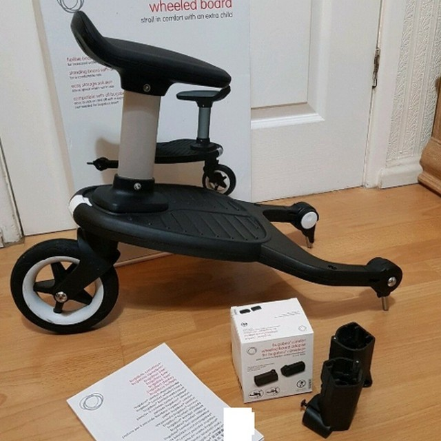 Baby comfort wheeled board adapters baby stroller pedal troller baby seat standing Plate Travel Trailer Twins Scooter Hitchhiker