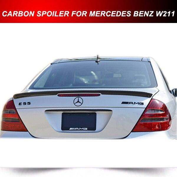 PARA MERCEDES BENZ E55 AMG Em Fibra De Carbono Tronco Spoiler W211 E280  E320 E350 E500