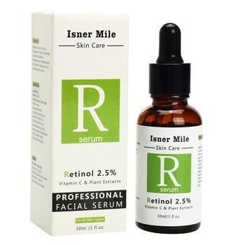 Retinol 2.5% 30ml Vitamin C Serum Firming Repair Skin Anti Wrinkle Anti Acne Anti Aging Serum Skin Care Face Facial Serum