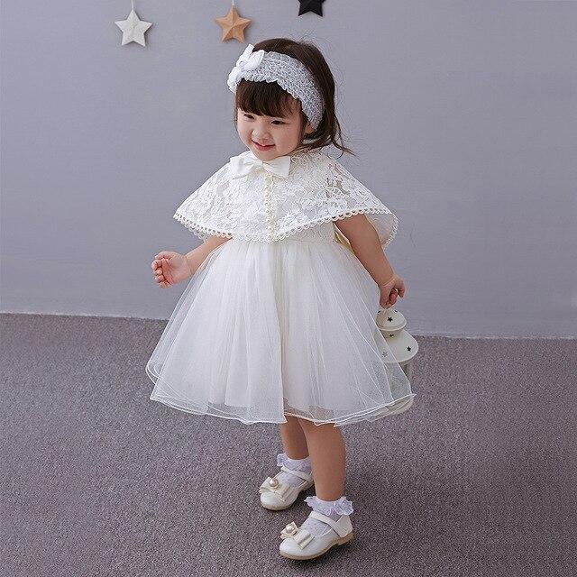 2ba3626e3535 Brand Newborn Baby Girl Dresses Princess Baby Infant Christening ...