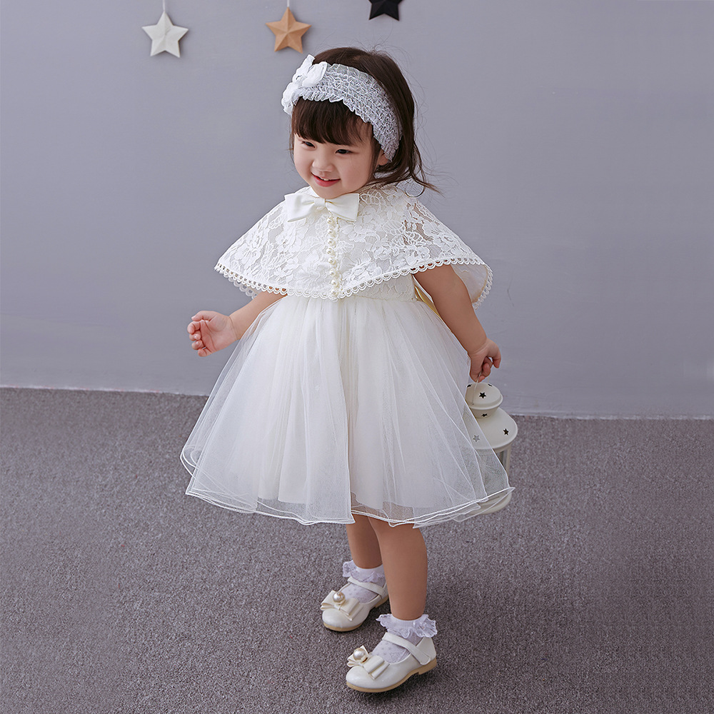 marca bebe recem nascido menina vestidos da princesa do bebe vestidos de baptizado infantis 1 ano