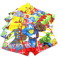 5 Pcs/lot Hot Sell Cotton Boys Underwear Cartoon Children's Panties Baby Kids Boxer Underpants Briefs Boy Underware 7 Kind Style