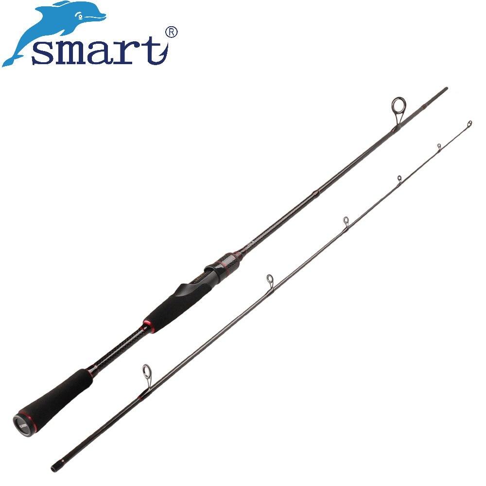 Smart Leurre Canne À Pêche 1.8 m 2.1 m 2 Sec. M Puissance Vara De Pescar Carbono Spinning Rod Lure Poids. 7-25g D'eau Salée Pêche À La Carpe S'attaquer