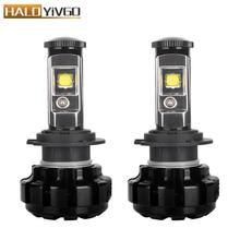 цена на H4 H7 H11 9005 HB3 9006 HB4 H13 LED Headlight Bulbs Conversion Kit For CREE Chip 80W 9600lm 6000K White Fog Lights 12V
