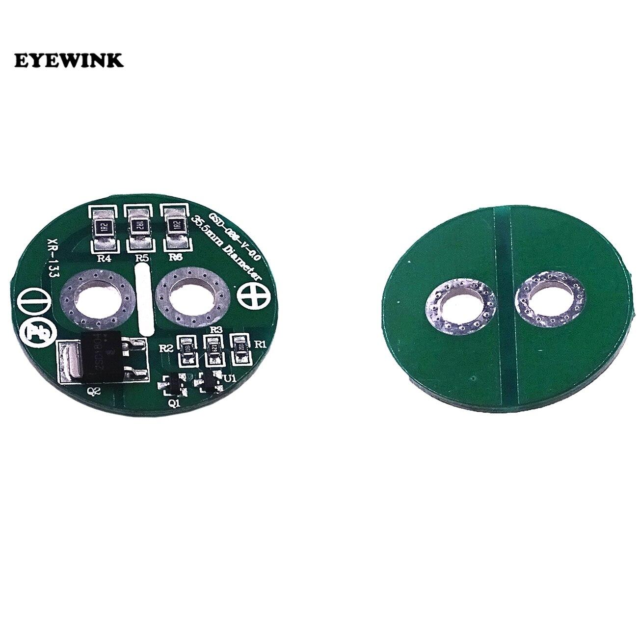 1 sztuk 3.5cm uniwersalny 2.7V 500F super kondensator równoważenia moduł ochrony elementy elektryczne