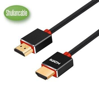 イーサネット認証付きのShuiancable高速HDMIケーブルは、1080p 3DオーディオリターンチャンネルFull HD 1m 2m 3m 5m 10mイーサネットケーブルをサポート