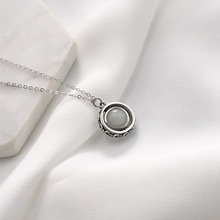 цены S925 Silver Luminous Necklace Loves Chitose's First Love Silver Item Clavicle Chain