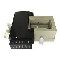 Digital CD Printer DVD Disc Printing Machine PVC Card Printers for Epson L800 with 51pcs CD/PVC Tray for Hot Sales