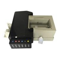 Digitale CD Drucker DVD Disc Druck Maschine PVC Karte Drucker für Epson L800 mit 51 stücke CD/PVC Fach für Heiße Verkäufe