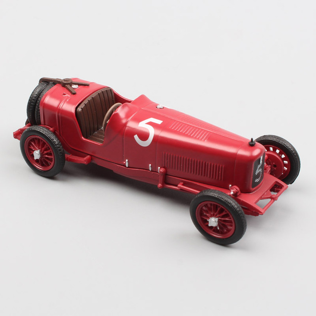 1/43 Scale Tipo 26 Targa Florio 1926 Vintage Old Sport Racing No.5 Auto Diecasts & Toy Vehicles Metal Modeling Car Toy Acrylic