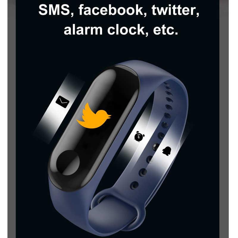 Цветной экран Смарт-часы спортивный фитнес-браслет IP67 Водонепроницаемый светодиодный цифровой детский смарт-трекер для мужчин и женщин часы
