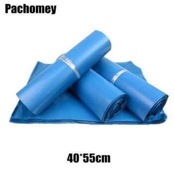 Bolsa De correo grande azul De 40x55 cm, bolsa De mensajería, bolsa De correo exprés, Bolsas De correo De plástico PP072716