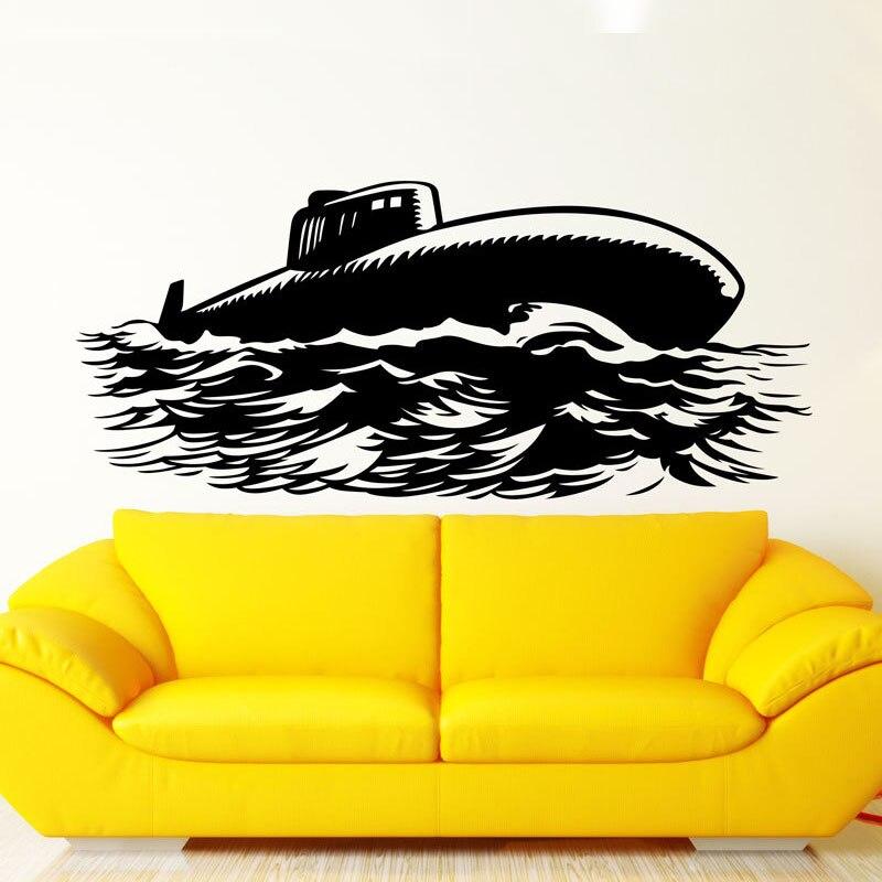 Submarino pared compra lotes baratos de submarino pared for Stickers pared baratos