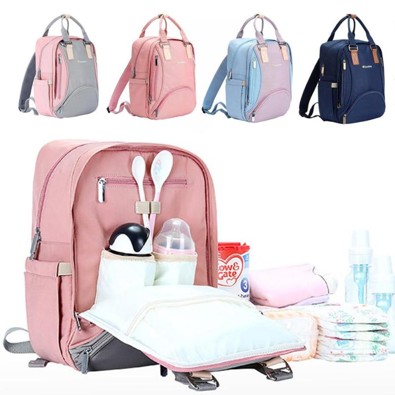 Nappy bag Diaper backpack Multi-function mummy bag large capacity waterproof backpack mother pregnant change bags Travel Pad XV3 casual women backpack solid oxford cloth multi functional large capacity maternal bag baby diaper bags travel mother backpack y3