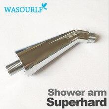 WASOURLF дождь Душевая труба настенный смеситель для душа рукавная трубка пластик abs сверхтвердых прочный утолщаются душевая головка используется хромированный