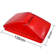 Tail light Cover Rear Brake Light for Yamaha WR250F WR400F WR426F WR450F TT250R TT 250 Stop Lamp Case Cap Lens tail