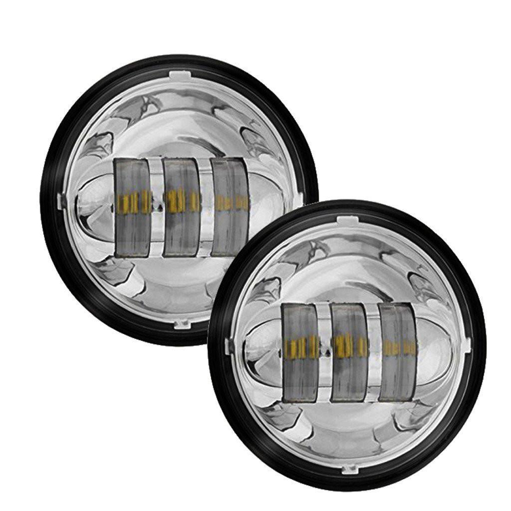 4 1 2 45inch LED Passing Light For Harley Davidson Fog
