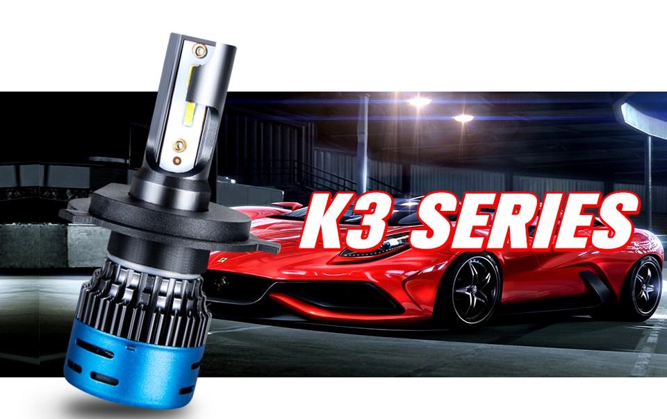 2PCS Mini H4 H7 LED Car Headlight Kit 50W 10000LMSet H1 H11 9005 HB3 9006 HB4 H8 6000K 4300K 8000K 3000K Bulbs Car Accessories (1)
