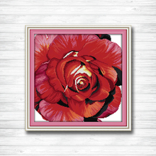 Цветы розы DMC 14CT 11CT наборы для вышивки крестиком наборы ручной работы Китайская вышивка крестиком домашний декор