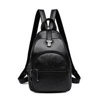 Fashion Women Backpack Female School Shoulder Tote Bags High Quality Youth Leather Backpacks for Teenage Girls Bagpack mochila