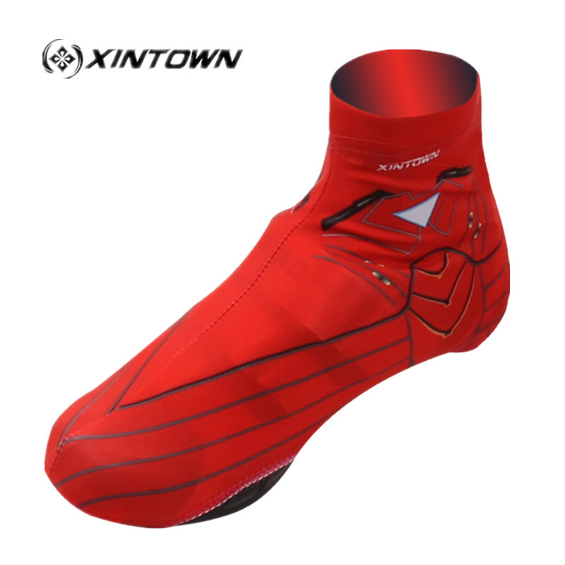 XINTOWN Cycling Shoes Covers cubre botas ciclismo fundas go pro Bike galocha Overshoe iron man Cycle Cover Bicycle Clothing