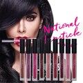 9PCS/lot Beauty Matte Lipstick Long Lasting Waterproof Makeup Liquid Lip Gloss Colorful Make up Lipsticks Vixen Famous Bombshell