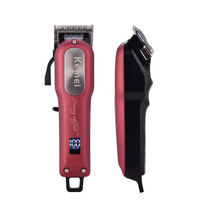 KEMEI Electric Rechargable Hair Cutting Hair Clipper Professional Machine Sharp Blade Hair Trimmer For Men Baby Hair Salon 44