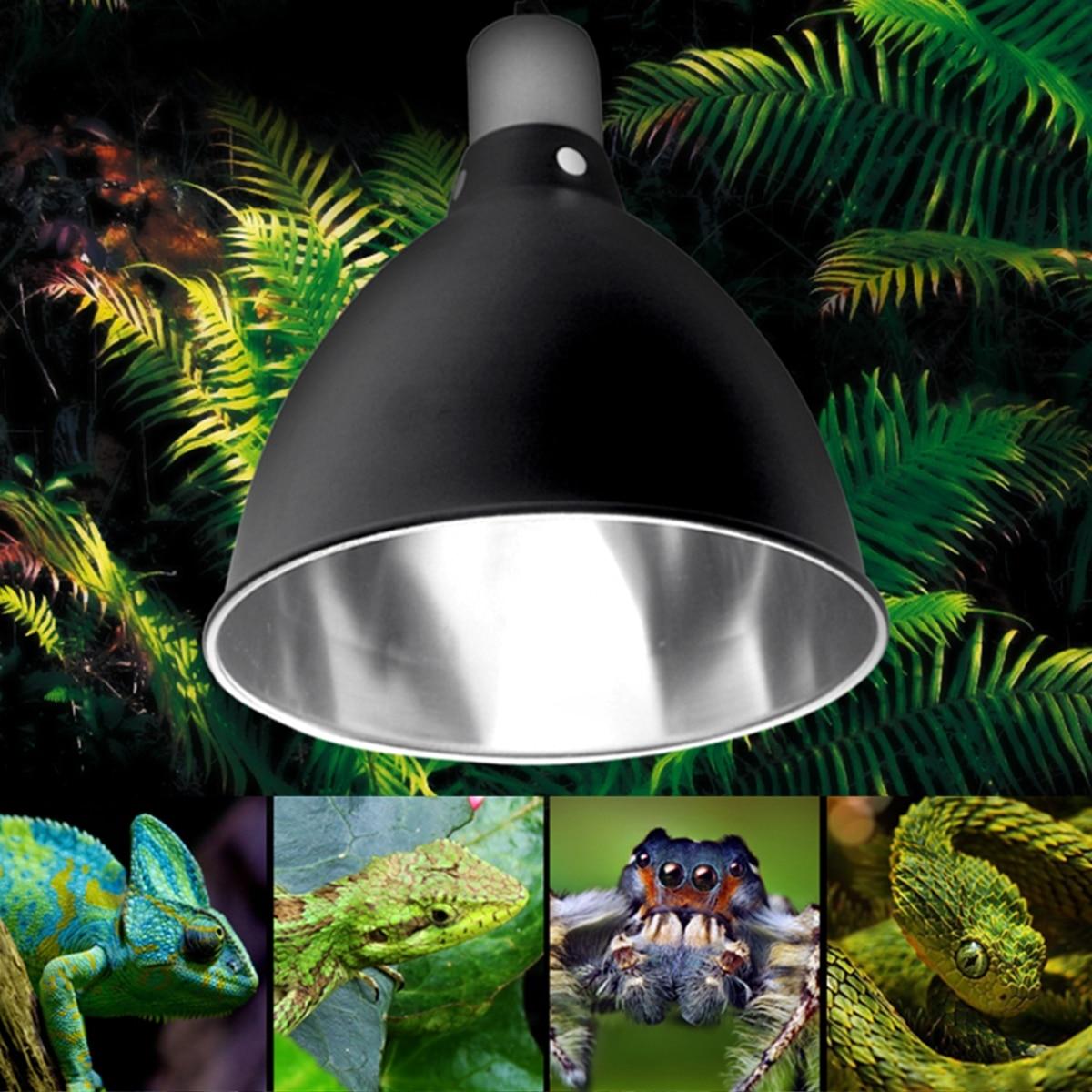 E27 Ceramic Heat UV UVB Lamp Light Holder For Aquarium Amphibians Reptile Tortoise Lampshade with SwitchE27 Ceramic Heat UV UVB Lamp Light Holder For Aquarium Amphibians Reptile Tortoise Lampshade with Switch