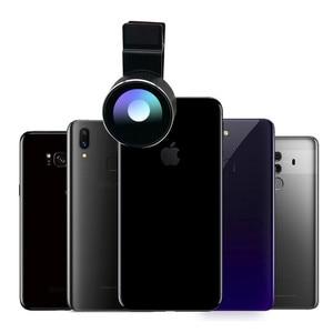 Image 2 - Lente Macro de doble cámara 2 en 1, lente Macro de 20X para cámara de teléfono móvil y lente gran angular HD de 128 grados para iPhone 7 Plus X 8