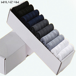 Whlyz yw 10 pairs lot box brand new men bamboo fiber socks high quality business casual.jpg 250x250