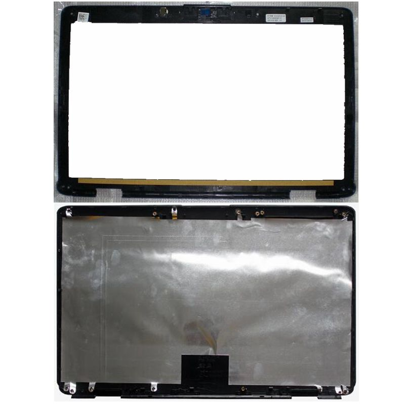 NEW laptop LCD back Cover for Dell Inspiron 1545 1546 A shell/LCD Front Bezel Cover black PN M685J new laptop lcd display front screen back cover bezel