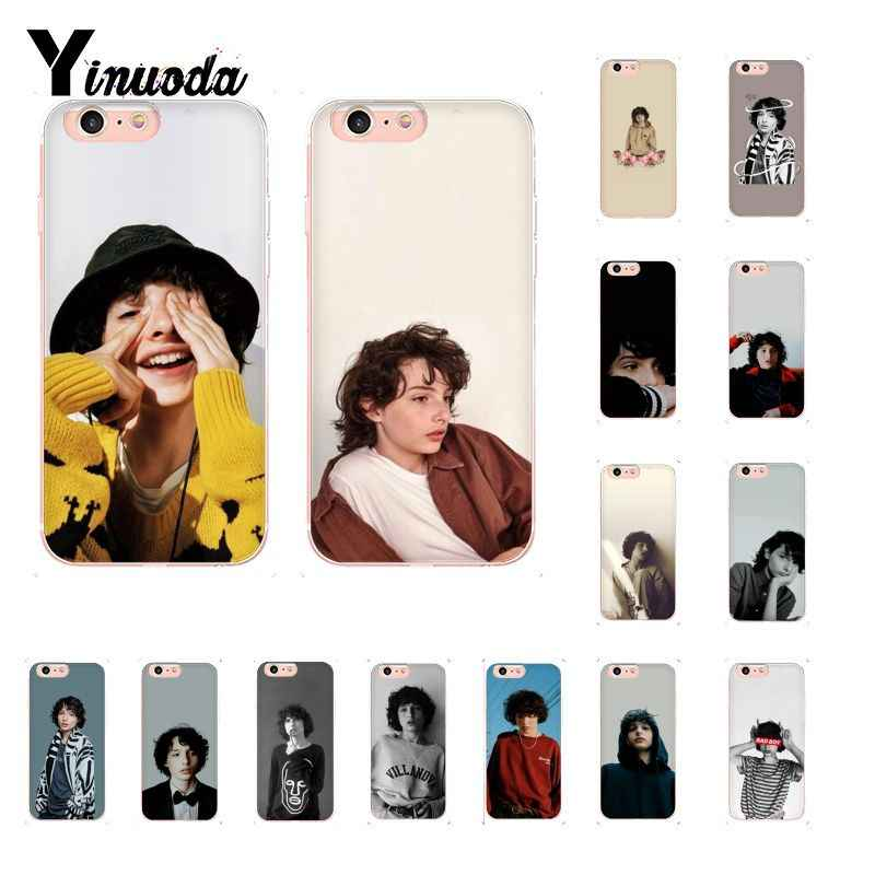 Yinuoda TV Finn Wolfhard Stranger Things TPU Soft Silicone Phone Case for iPhone 8 7 6 6S Plus X XS MAX 5 5S SE XR 10 Cover