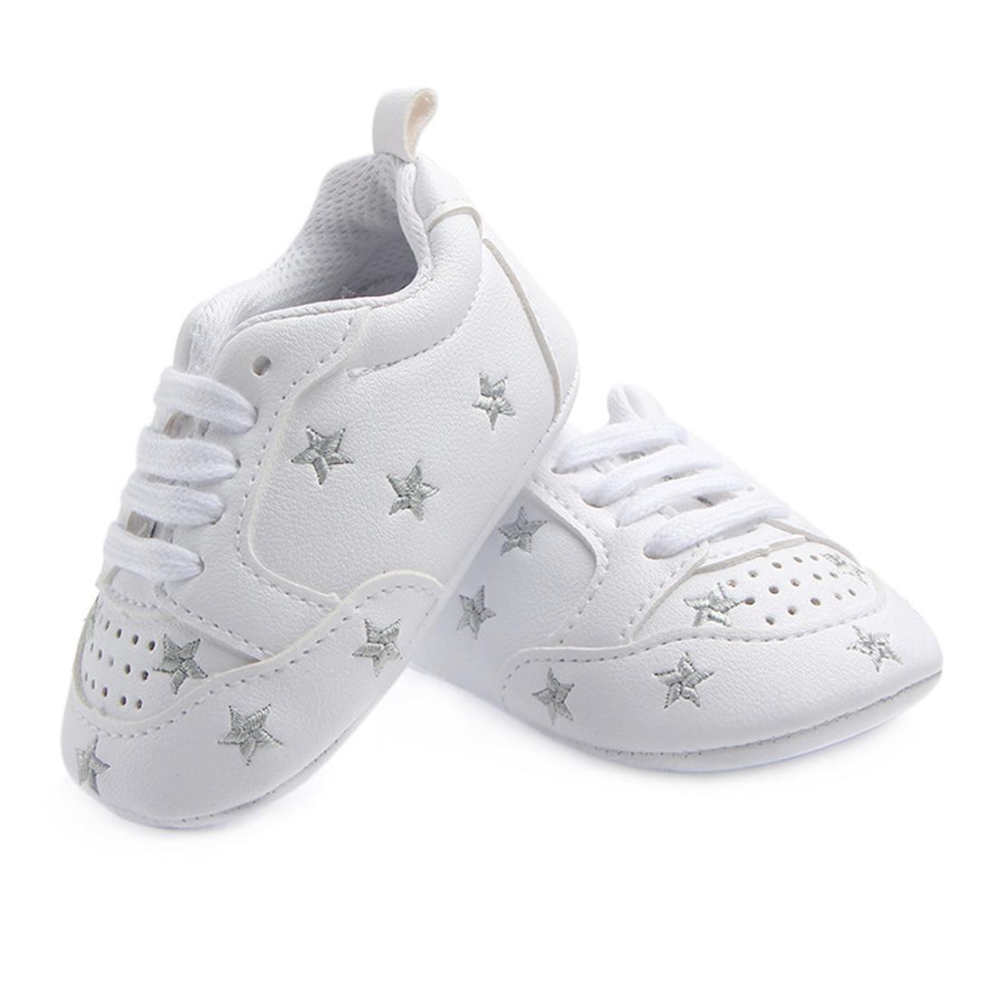 Baby Crib Shoes for Boys Miękka podeszwa PU Leather Mokasyny Girl - Buty dziecięce - Zdjęcie 2