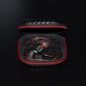 Image 3 - ポータブルミニイヤホンケースボックスハードevaヘッドホン収納袋earpodインナーイヤー型ワイヤレスbluetoothイヤホンアクセサリー