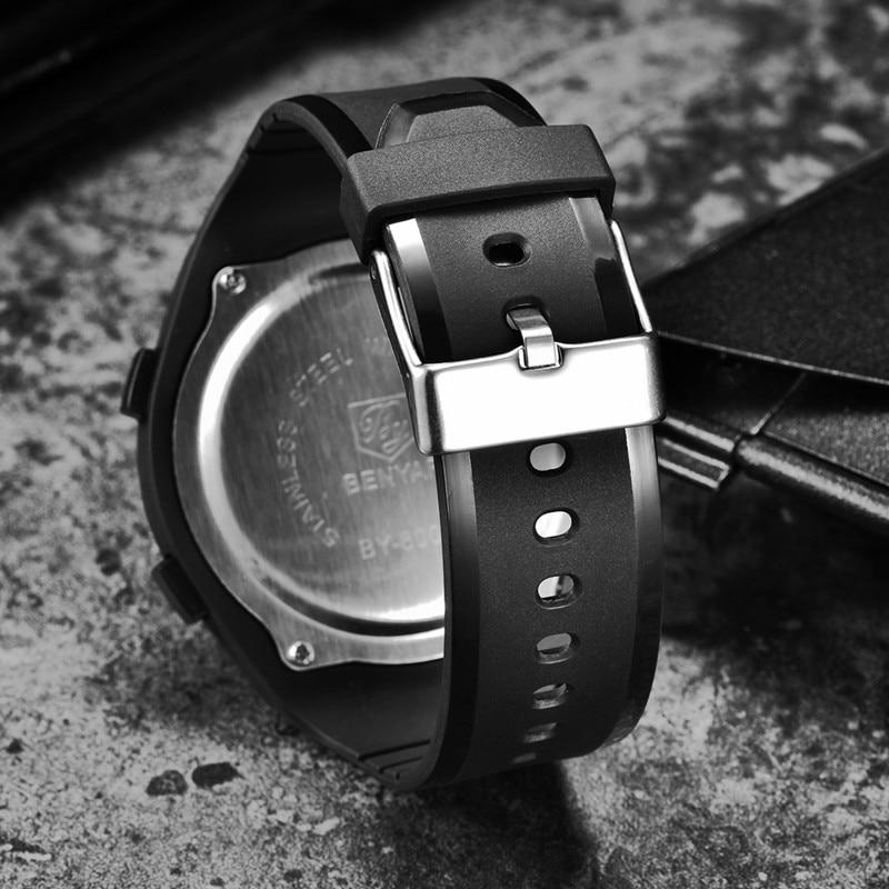 BENYAR Top Brand Luxury Men 39 s Watches Waterproof Watch Men LED Digital Stopwatch Date Sport Wrist Watch Clock Relogio Masculino in Digital Watches from Watches