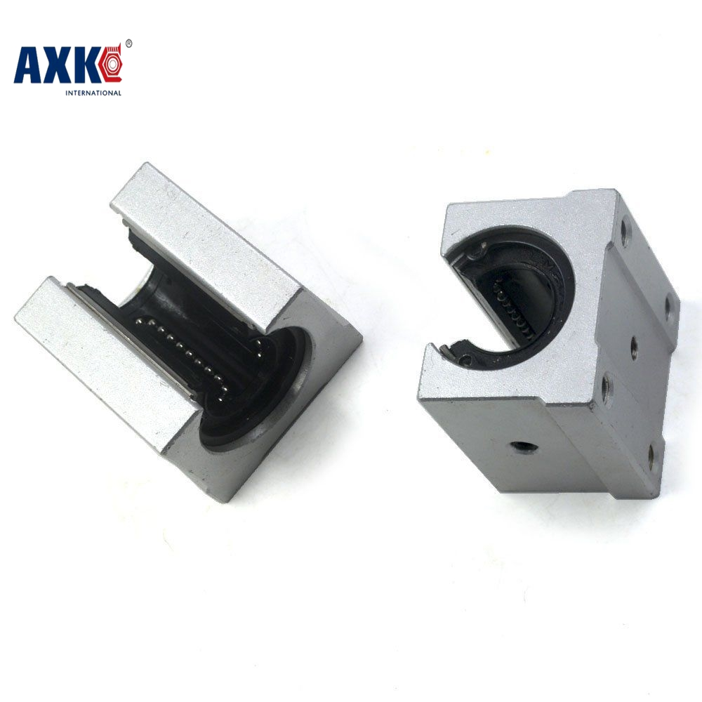 Free shipping SBR16 SBR16UU 16mm Linear Ball Bearing Block CNC Router free shipping sc16vuu sc16v scv16uu scv16 16mm linear bearing block diy linear slide bearing units cnc router
