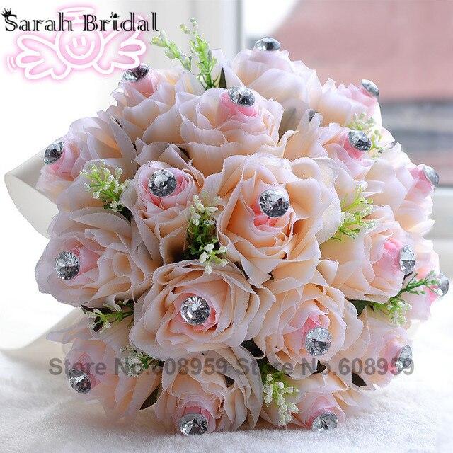 Романтический свадебный букет украшения Wwedding цветы свадебные букеты свадебные аксессуары Buque де Noiva WF016