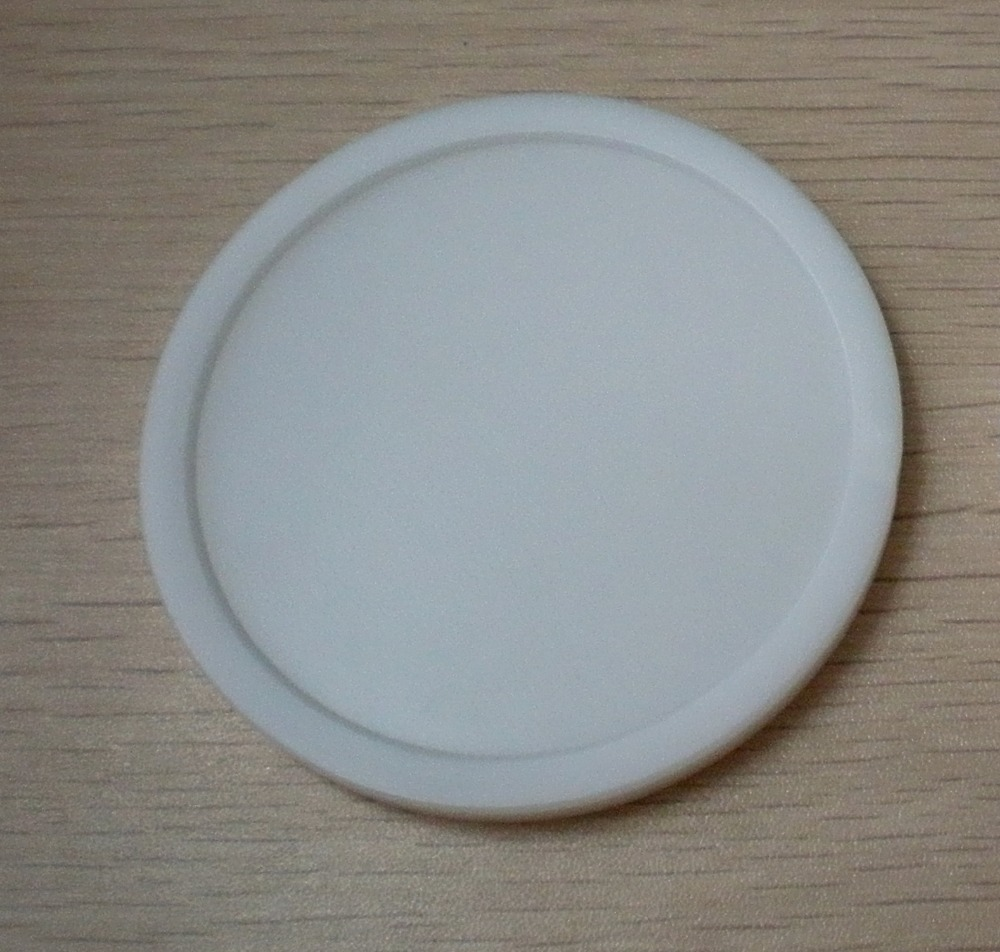 NEW 1pcs White Air Hockey Table Pusher Puck 82mm 3-1/4