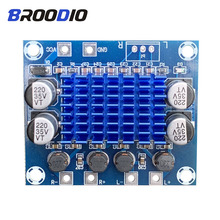 все цены на Digital Audio Amplifier Board 2.0 Channel 2*30W Class D Amplifiers Module 12V 24V Expand DIY The Soundboard For Home Speaker онлайн