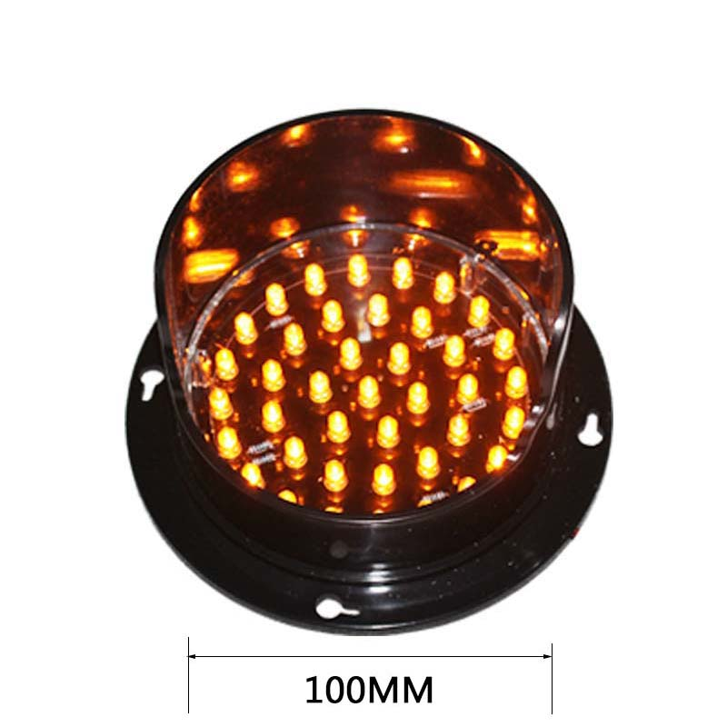 Red Yellow Green Avaiable PC Material 100 Mm LED Traffic Signal Module