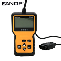 EANOP V310 2.7inch LCD display OBDII EOBD Auto Code Reader 6 Languages Automobile Diagnostic Scanner For Universal Cars