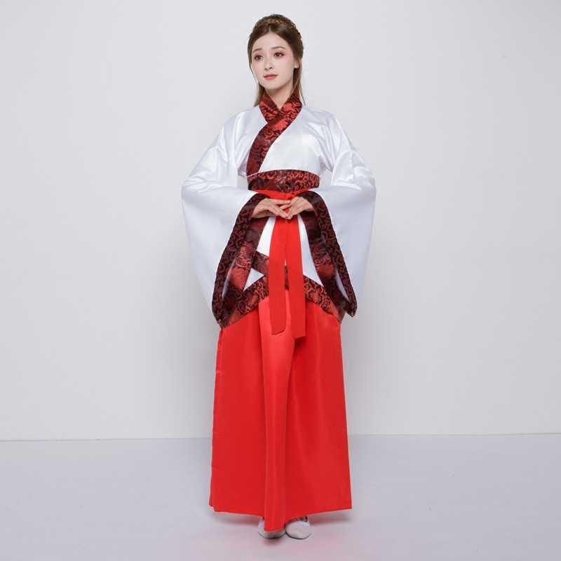 زي تانغ دعوى hanfu رسمية مزدوجة لف تشو يوان تظهر ازياء الجنية نووا تنورة تظهر زي الكبار