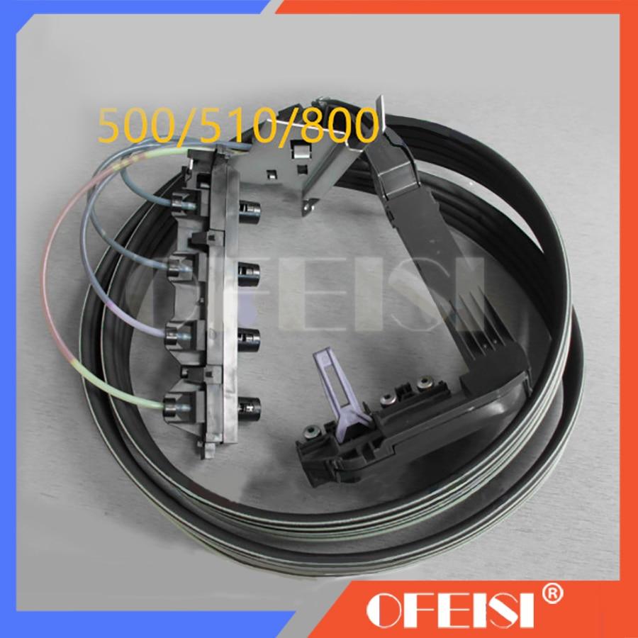 Original new DesignJet Plotter 500 510 800 Ink tube system Ink tube Assembly C7769 60381 C7769 60256 24inch Plotter parts