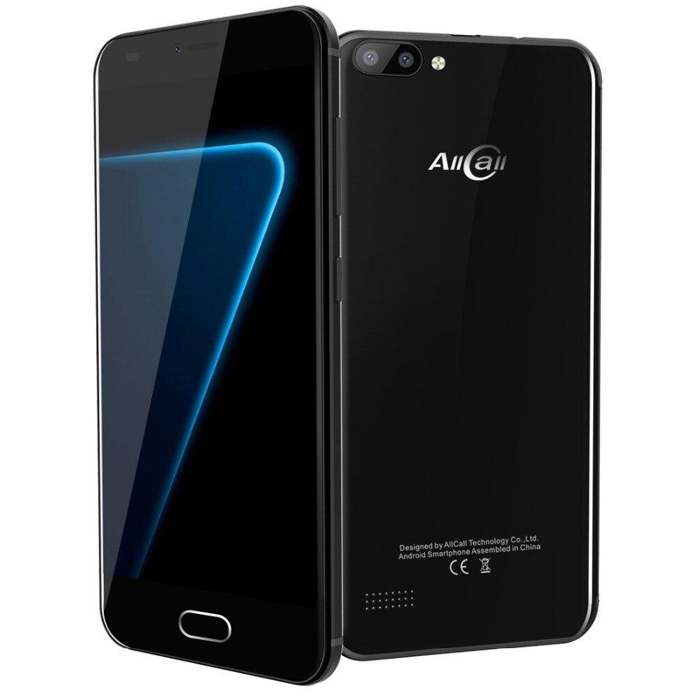 Original AllCall Alpha 3G Smartphone Android 7.0 5.0 Inch MTK6580A Quad Core 1GB RAM 8GB ROM 8.0MP OTG GPS Dual SIM Mobile Phone