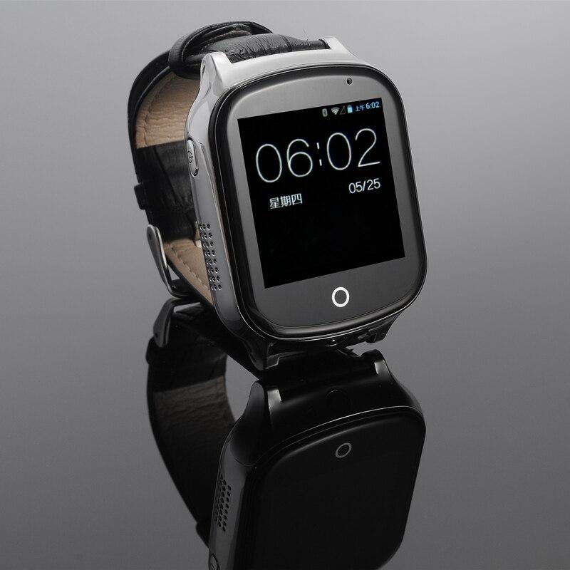 A19 LBS + GPS + emplacement WIFI montre de sécurité intelligente pour bébé appel SOS pour surveiller vos enfants et enfants suivi Smartwatch support carte SIM - 4
