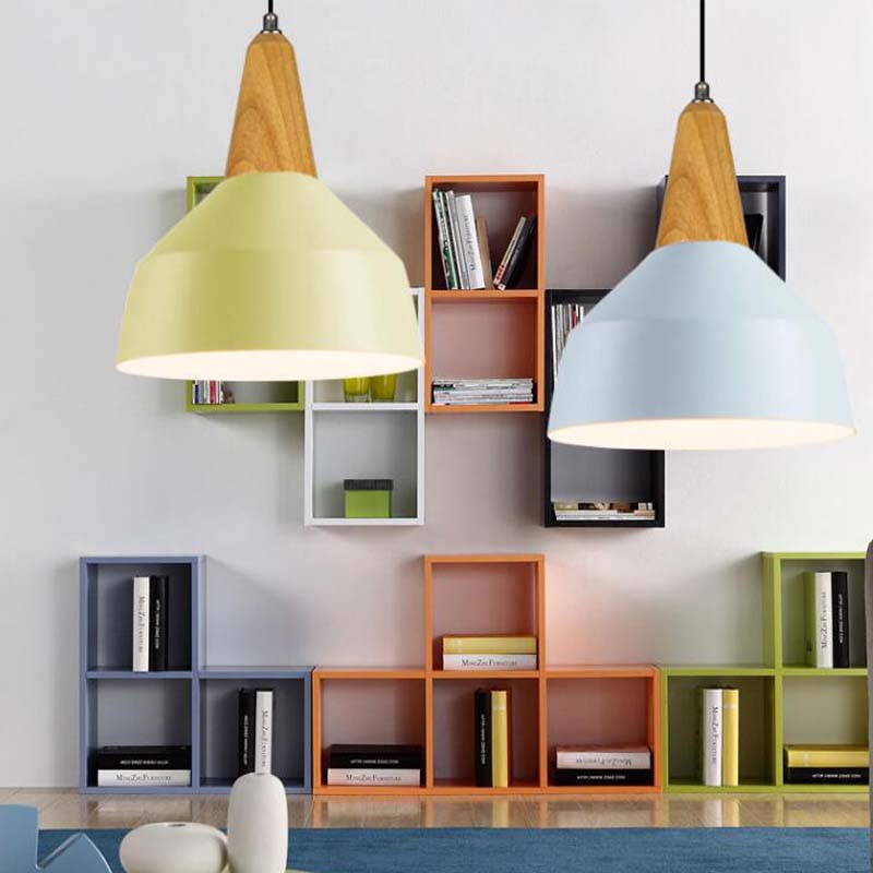 Led Vinatge Pendant Lights Retro Modern Dining Room