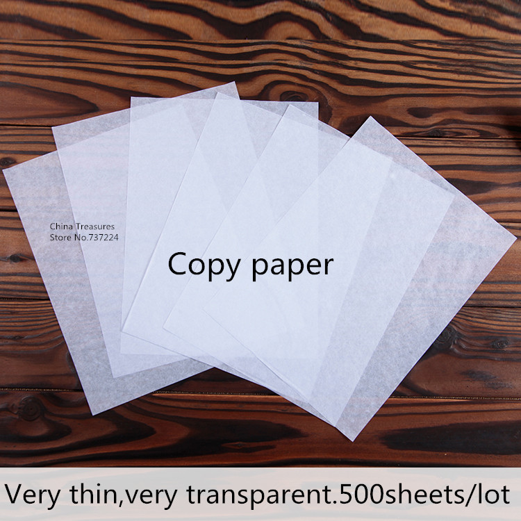 Tracing Paper Copy Paper For Calligraphy Facsilile Paper